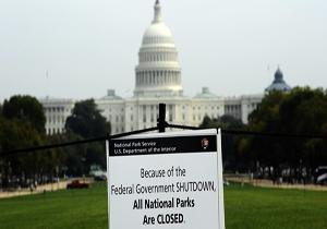 دولت آمریکا مجددا تعطیل شد