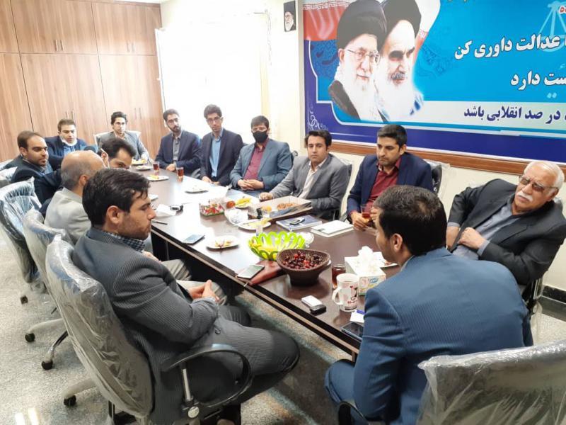 حضور نیروی انسانی پاکدست در دادگستری و شورای حل اختلاف اسلام آبادغرب بسیار ارزشمند است