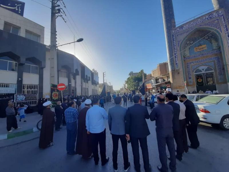 مراسم شهادت امام جعفر صادق(ع) در اسلام آبادغرب+فیلم و عکس