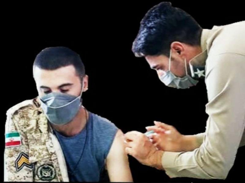 واکسیناسیون 80 درصد کارکنان پایور و وظیفه این تیپ ۱۸۱ زرهی