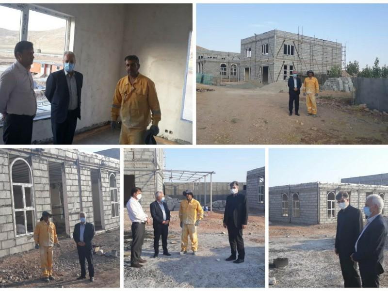 بازدید فرماندار اسلام آبادغرب از پروژه مجتمع رفاهی وخدماتی در بخش حمیل